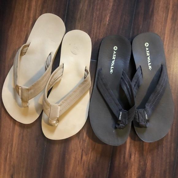 12dac47895d Airwalk Shoes - Airwalk never worn and SO Flip flops!